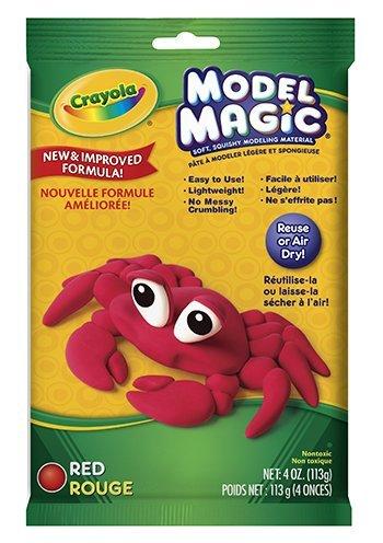 16 Pack CRAYOLA LLC FORMERLY BINNEY SMITH MODEL MAGIC 4OZ RED