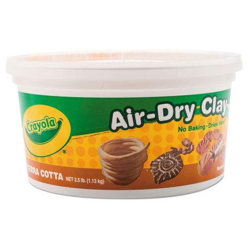 CRAYOLA LLC CRAYOLA AIR DRY CLAY 2 12LB TERRA Set of 6