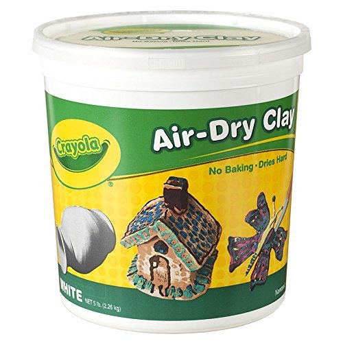 CRAYOLA LLC CRAYOLA AIR DRY CLAY 5 LBS WHITE Set of 6