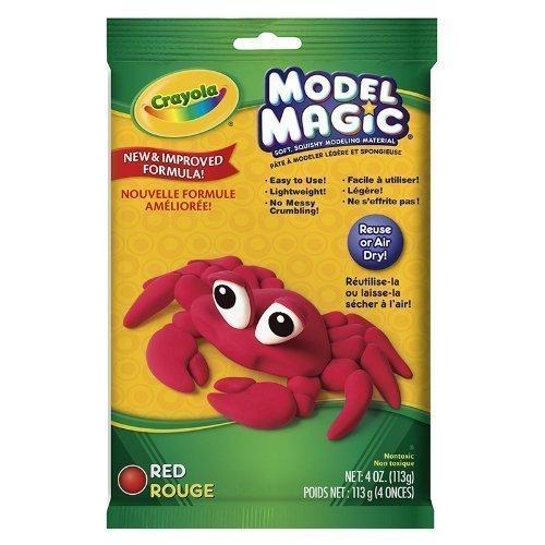 CRAYOLA LLC MODEL MAGIC 4 OZ RED Set of 12