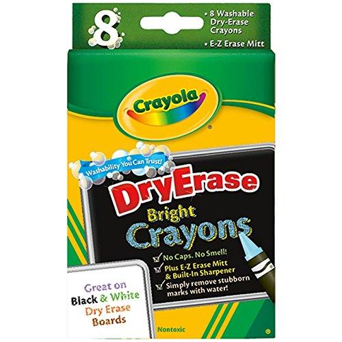 Crayola Dry Erase Crayons 8 Count Case of 10