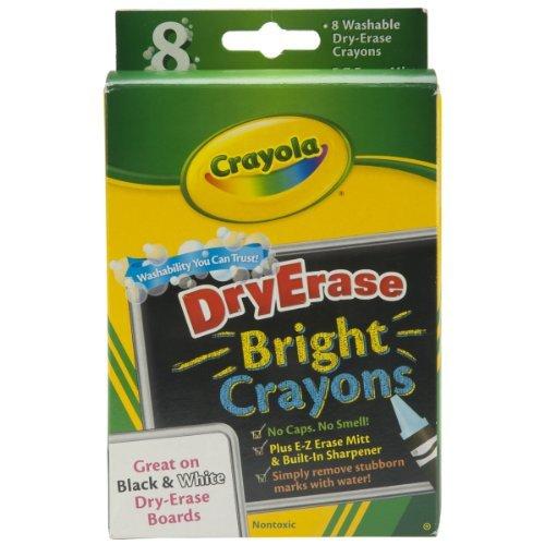 Crayola Dry Erase Crayons Bright by Crayola