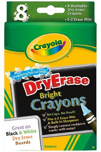 Crayola Llc Formerly Binney Smith BIN985200 Crayola Dry Erase Crayons 8 Count