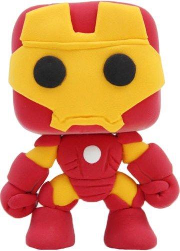 ADS DIY Toddler Art Modeling Mini Clay Iron Man