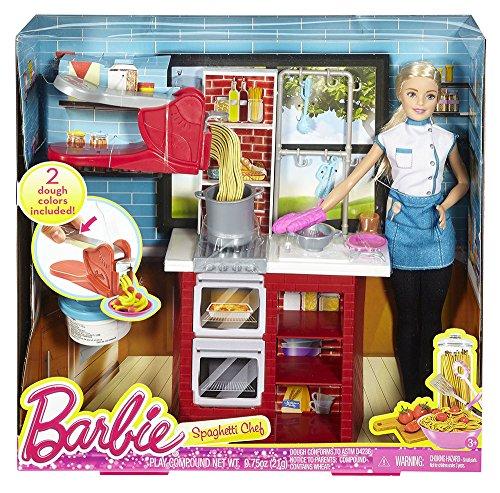 Barbie Spaghetti Chef Doll Playset