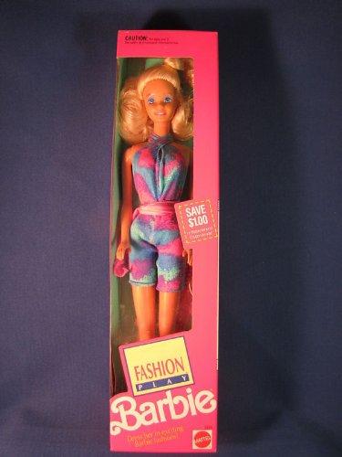Fashion Play Barbie Doll 1991