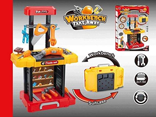 AZ PS181 Toy Tool Set Workbench Kids Workshop Tool bench