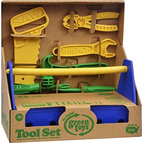 Green Toys Tool Set - Blue  Kid Toy  Hobbie  Nice Gift