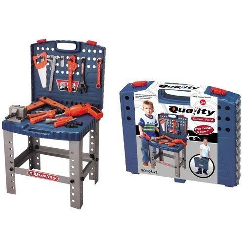 Toy Tool Set Workbench Kids Workshop Toolbench