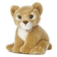Stuffed Lion Cub - Set Of 2