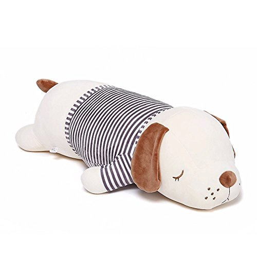Niuniu Daddy 20 inch Super Soft Plush Puppy Stuffed Animal Toy Plush Soft Dog Hugging Animal Puppy Shape Sleeping Kawaii Pillow