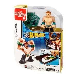 Toy  Game Terrific Mattel WWE Rumblers Apptivity Sheamus Figure - Take Brawling To The Digital Level