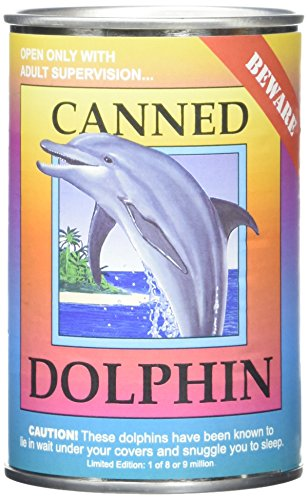 Canned Critters Stuffed Animal Dolphin 6