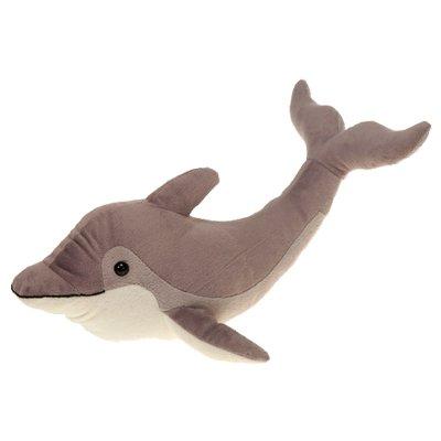 Gray Dolphin Plush Stuffed Animal Toy by Fiesta Toys - 16