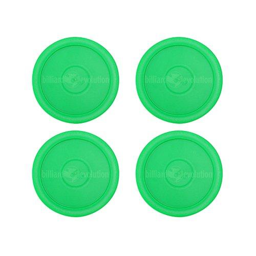 Billiard Evolution 4 Green Round Air Hockey Pucks