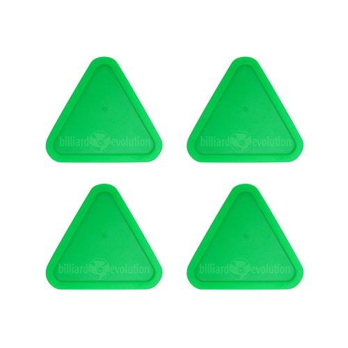 Billiard Evolution 4 Green Triangle Air Hockey Pucks