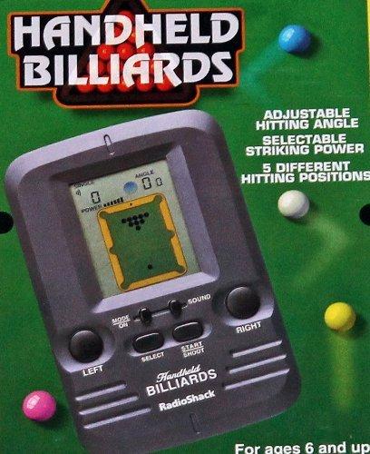 Billiards Electronic Handheld Game 60-2657