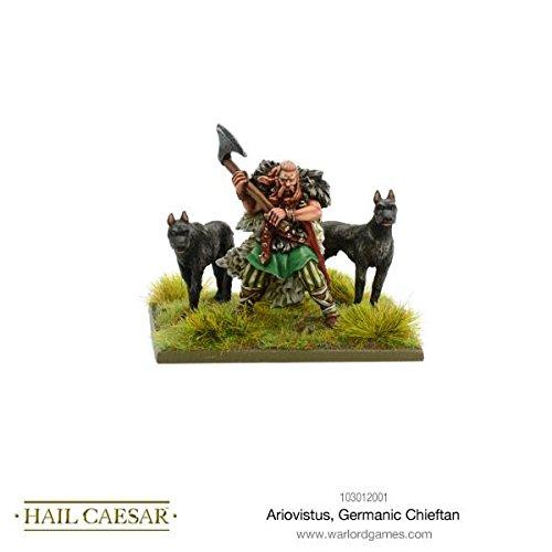 Warlord Games Ariovistus Germanic Chieftan Hail Caesar Wargaming Miniatures