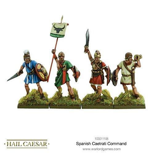 Warlord Games Spanish Caetrati command Hail Caesar Wargaming Miniatures