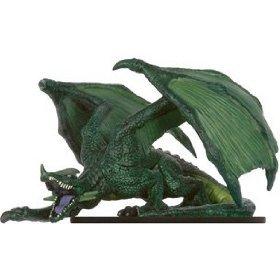 Dungeons Dragons Miniatures Legendary Evils Elder Green Dragon Booster Pack