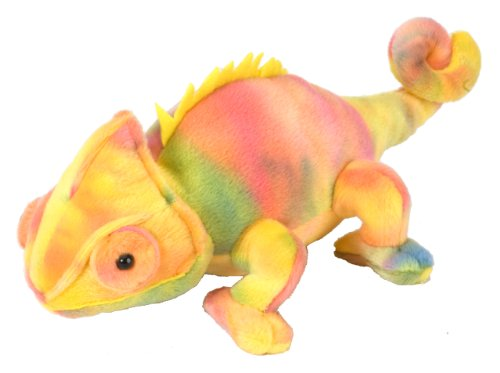 Wild Republic Chameleon Plush Stuffed Animal Plush Toy Gifts for Kids Cuddlekins 8 Inches