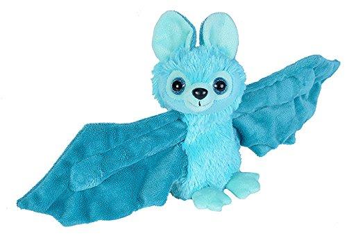 Wild Republic Huggers Blue Bat Plush Slap Bracelet Stuffed Animal Kids Toys 8 inches