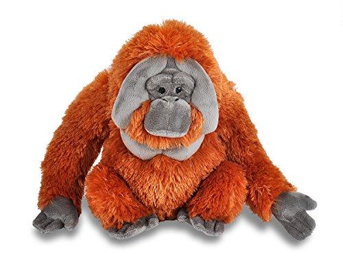 Wild Republic Orangutan Plush Stuffed Animal Plush Toy Gifts for Kids Cuddlekins 12 Inches
