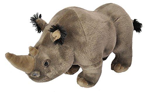 Wild Republic White Rhino Plush Stuffed Animal Plush Toy Gifts for Kids Cuddlekins 12