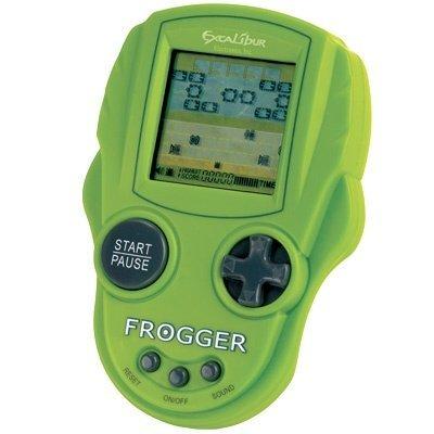 Excalibur Mini Arcade Frogger Handheld Game