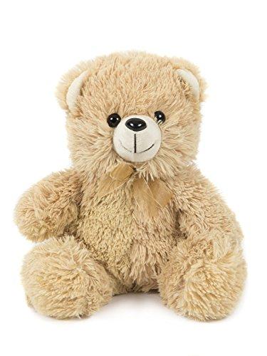 HollyHOME Soft Stuffed Teddy Bear plush Toy 10 inches Beige