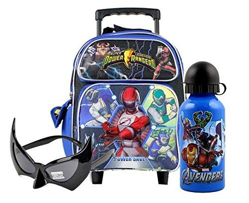 Power Rangers Heroes Unite Toddler Rolling Backpack Combo Set
