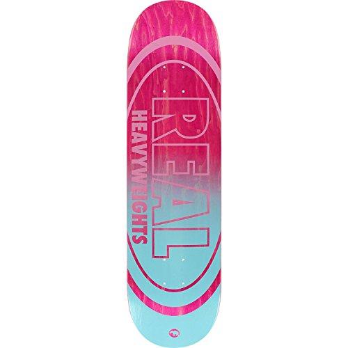 Real Heavyweight Deck -825 PinkBlu Assembled as COMPLETE Skateboard