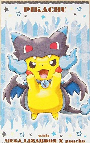 Pokemon Card Japanese - Poncho Pikachu - Mega Charizard - Business Card