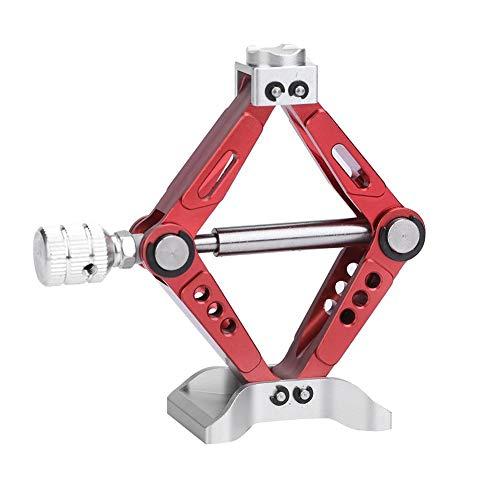 U LIFE RC Car Jack RC Crawler Adjustable Metal Scissor Jack for 110 Scale RC Car Tool Part Accessory