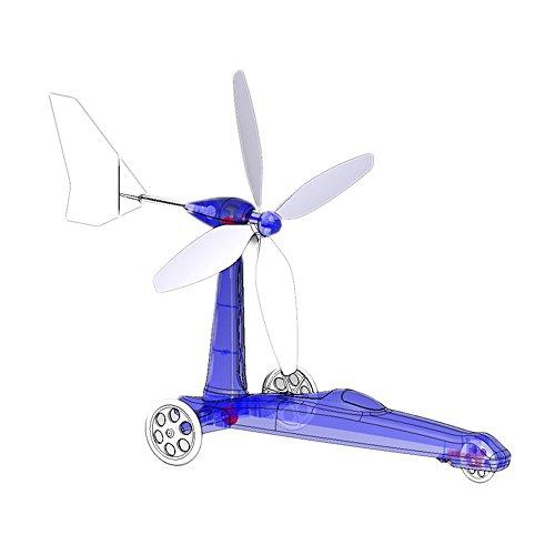 Academy Kids Hobby Military Toy Wind Powered Car