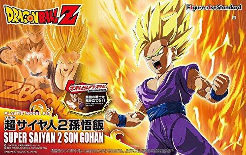 Bandai Hobby Figure-Rise Standard Super Saiyan 2 Son Gohan DRAGON Ball Z Building Kit