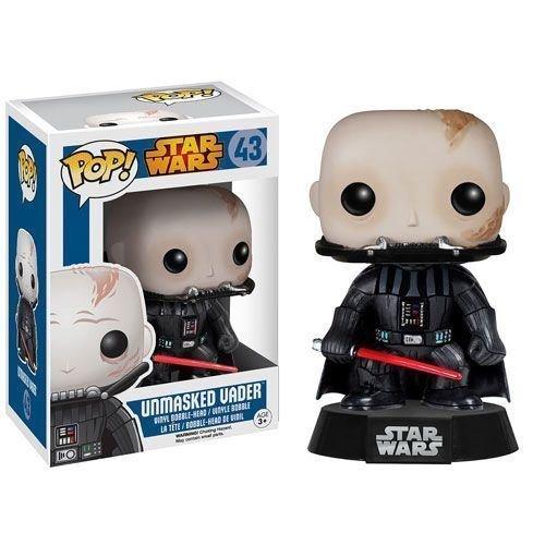 Toy POP DARTH VADER Darth Vader UNMASKED  43 VINYL FIGURE figure FUNKO Fanko Hobby figure toy model parallel import goods