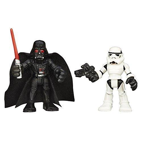 Toy Playskool Play School Heroes Star Wars Star Wars Galactic Heroes Darth Vader Darth Vader and Stormtrooper Storm Trooper Hobby figure toy model parallel import goods