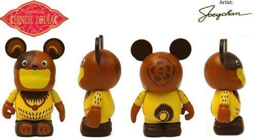 Toy Walt Disney Disney Vinylmation Vinyl mation 3  Figure figure Chinese Zodiac DOG in clear box CUTE American Verison Hobby figure toy model parallel import goods