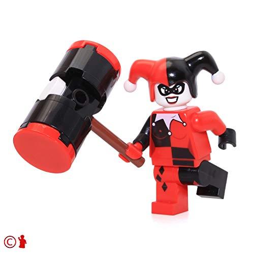 LEGO Super Heroes Batman Minifigure - Harley Quinn with Black Mallet 6857