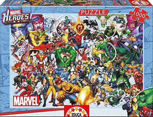 Educa Marvel Heroes Puzzle Jigsaw 1000