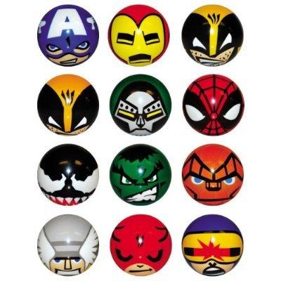 Marvel Heroes Foam Balls - set of 12