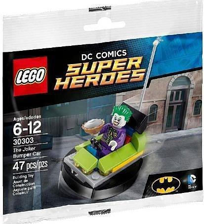 Lego Batman Joker Van Parker LEGO Joker Bumper Car 30303 parallel import goods