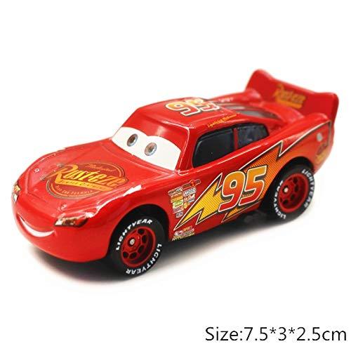 Disney Disney Pixar Cars 3 2 No117 Torquey Pistons Racing Cars Chick Hicks Mater 155 Diecast Metal Alloy Model Cars Kid Gift Boy Toy Lightning McQueen 2