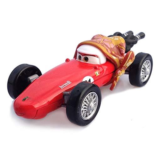Disney Disney Pixar Cars 3 2 No117 Torquey Pistons Racing Cars Chick Hicks Mater 155 Diecast Metal Alloy Model Cars Kid Gift Boy Toy Mother
