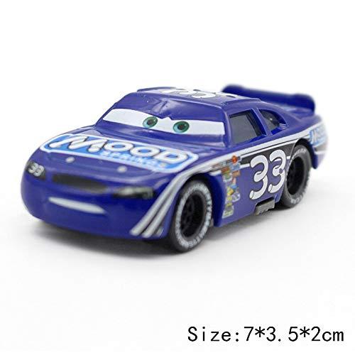 Disney Disney Pixar Cars 3 2 No117 Torquey Pistons Racing Cars Chick Hicks Mater 155 Diecast Metal Alloy Model Cars Kid Gift Boy Toy No33