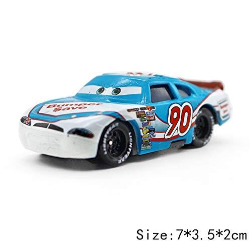 Disney Disney Pixar Cars 3 2 No117 Torquey Pistons Racing Cars Chick Hicks Mater 155 Diecast Metal Alloy Model Cars Kid Gift Boy Toy No90