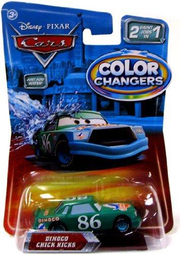 Disney Disney  Pixar Pixar CARS CARS Movie 155 Color Changers Dinoco Chick Hicks Dainako Chick Hicks minicar die-cast cars automobile miniature model parallel import