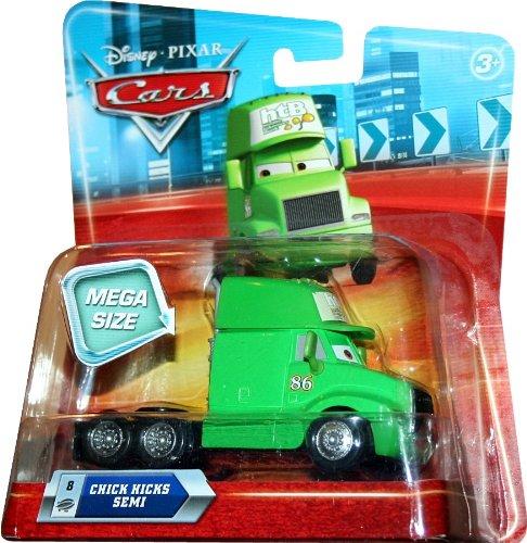MEGA SIZE CHICKS HICKS SEMI 8 Disney  Pixar CARS 155 Scale Vehicle