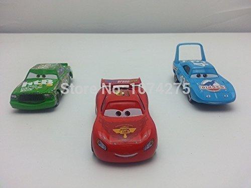 Pixar Cars No86 Chick Hicks No95 MaiKun No43 King Metal Diecast Toys